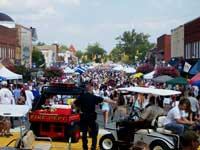 Lincolnton NC Apple Festival in September.