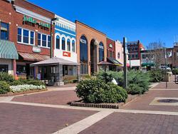 Hickory NC Downtown Plaza